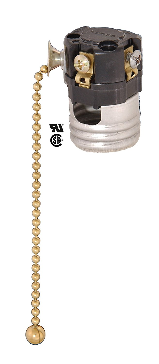 Attractive ... Bu0026P Lamp Pull Chain Socket Interior, No Paper Insulator