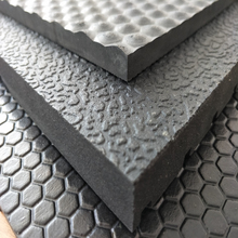 8mm Square Hexagon Pattern Double Side Heavy Duty Stable Rubber Horse Stall Mat