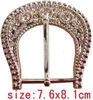 2017 lady's diamond pin buckle for belt/coat