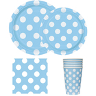 Machine molding blue party favor paper party paper plate crafts