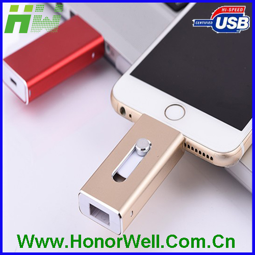 Manufactory flash Drive 16GB otg USB memory for Iphone 5 5S 6 6plus for computer