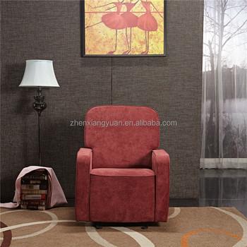 Fabric Modern Nursery Swivel Glider Recliner Chair Sf3800