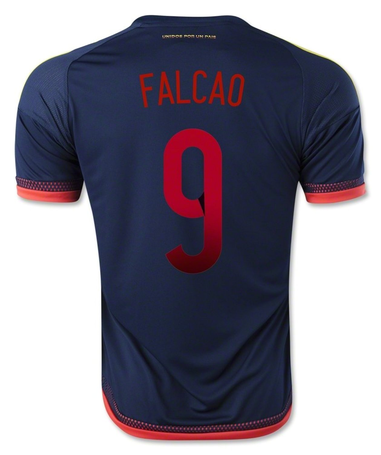 Get Quotations · Falcao  9 Colombia Away Soccer Jersey 2015 b43c9c2ba