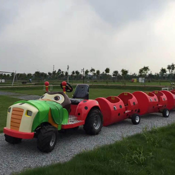 amusement park rides trackless train,mini electric tourist train rides