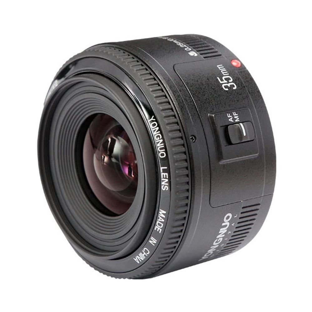 Yongnuo Yn35mm F2 Af/mf Standard Prime Wide Angle Lens For Nikon ...