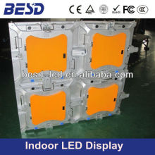 Easy install and assemble P6 die-casting aluminum rental led display cabinet