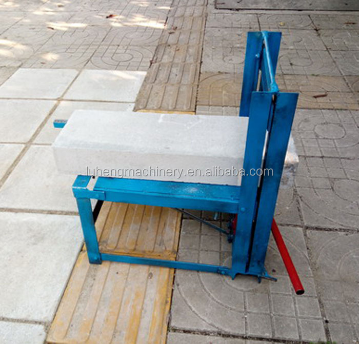 Sales Simple Cutting Manual Portable Concrete Paving Brick Cutter for construction