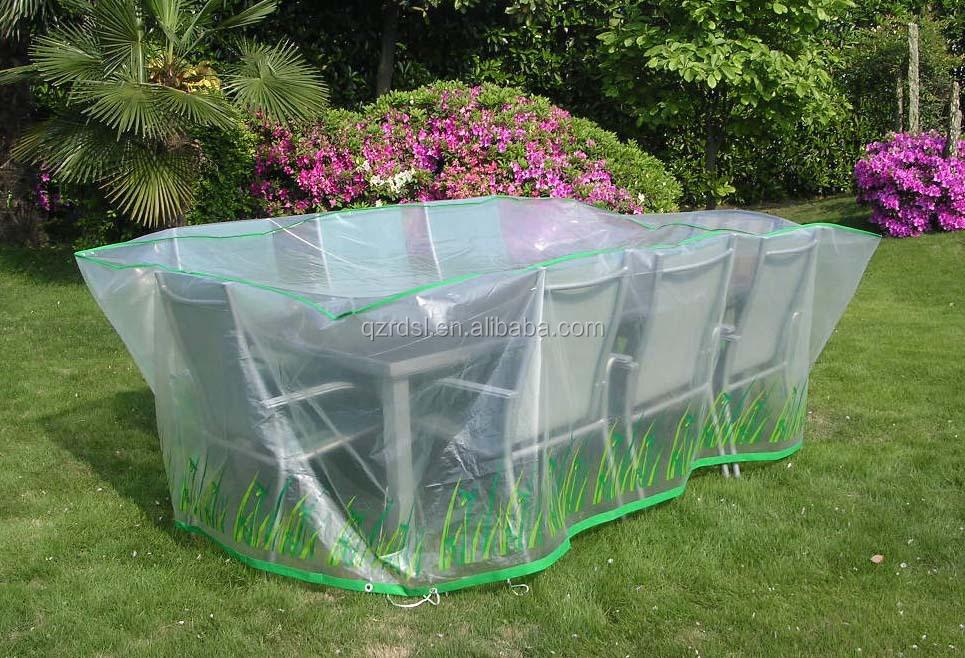 Waterproof PE Film Garden Furniture Cover