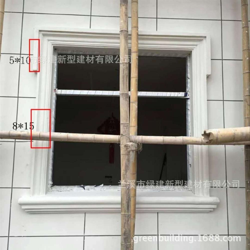 High quality exterior cornice moulding for outwall