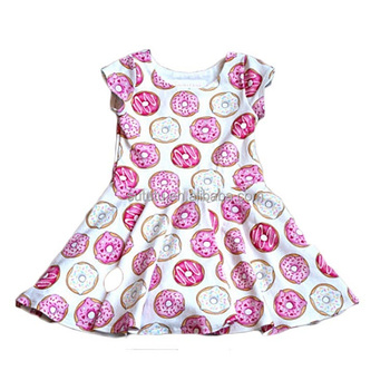 cde561a344a0 New design modern girls dresses party donut dresses for girls 10 year old  fashion girls short