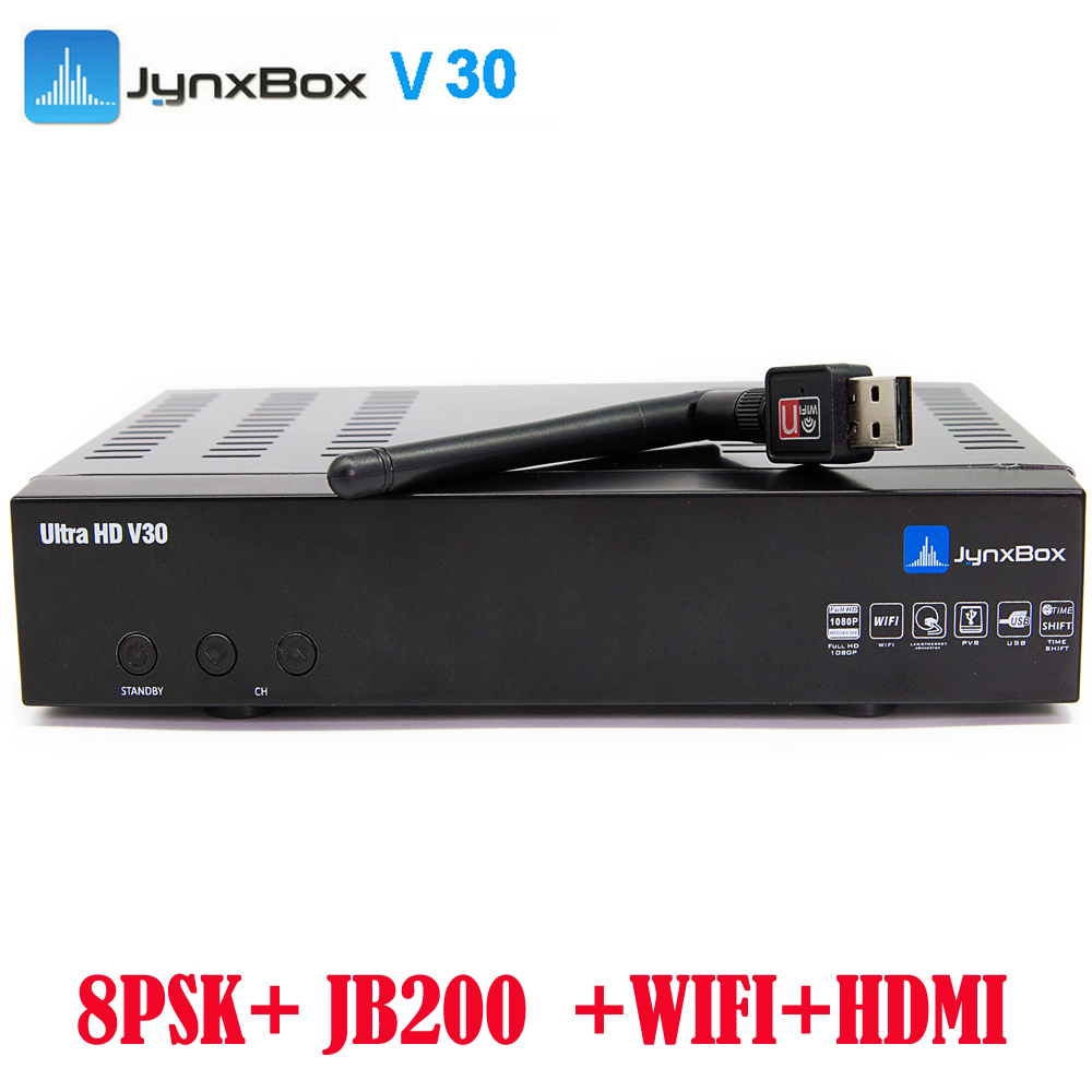 Best <strong>hd</strong> <strong>satellite</strong> receiver 2016 Jynxbox V30 Integrated JB200 Turbo 8PSK <strong>tuner</strong>