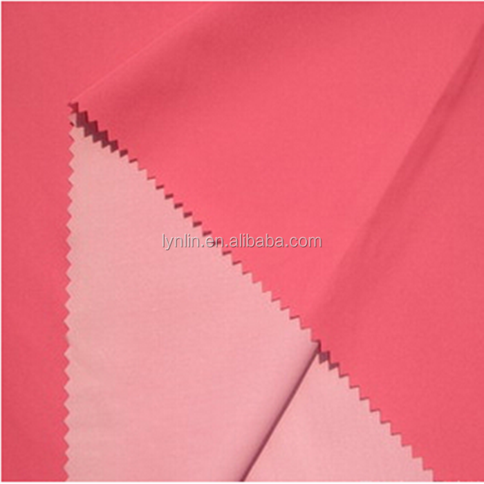 50D Good Quality Polyester Hexagon Pongee Milky Coating Fabric For Sportswear Garment
