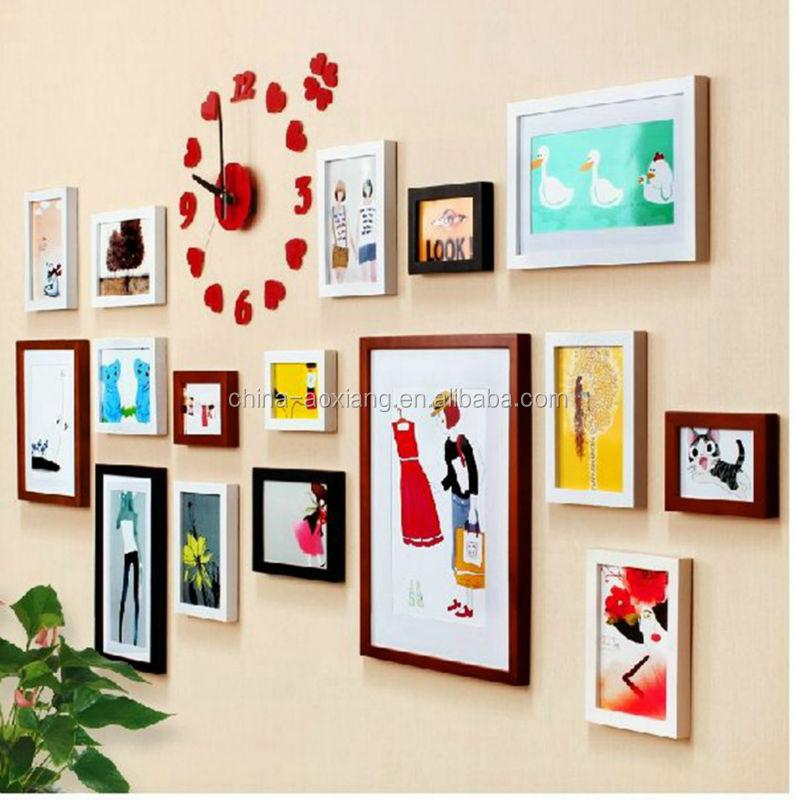 Sammlung Der Familie 16p Gesetzt Bilderrahmen Ps Wand Bilderrahmen ...