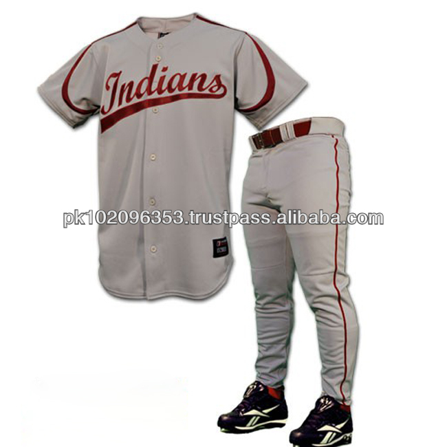 Europe Style Baseball Uniforms/Customized Baseball Uniforms/Numbers Tackle Twill Baseball Uniforms