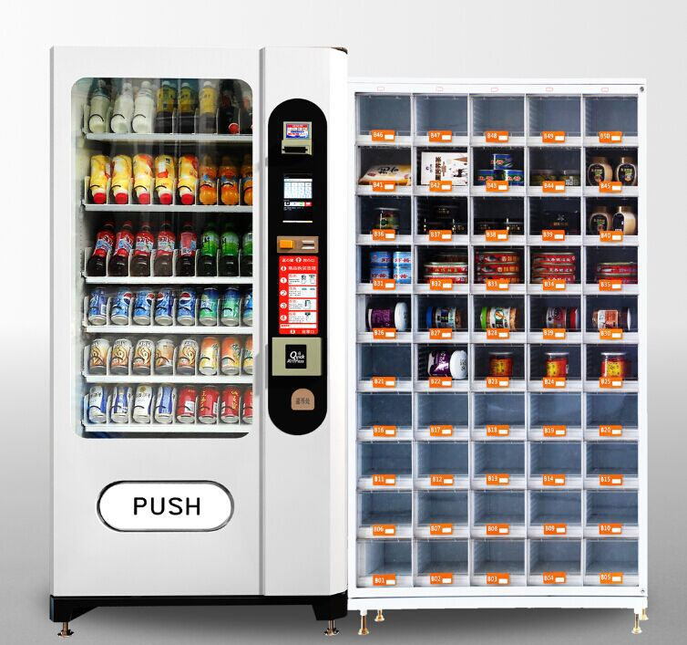 Vending Machines For Eggs Snacks Candy With 88 Doors Grid