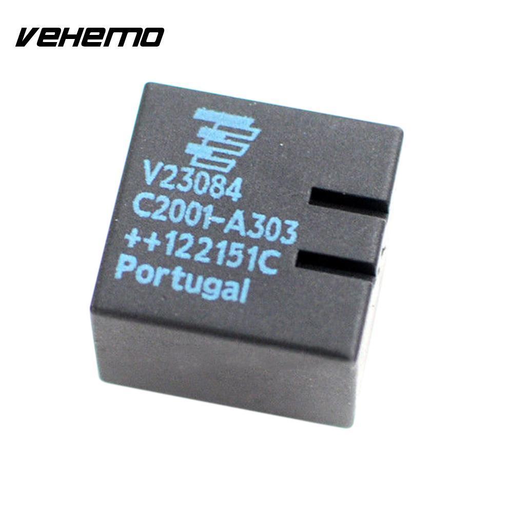Vehemo 2pcs Parts Replacement Original V23084-C2001-A303 A4 Automotive  Contact E46 3-Series Car Relay For MBW GM5