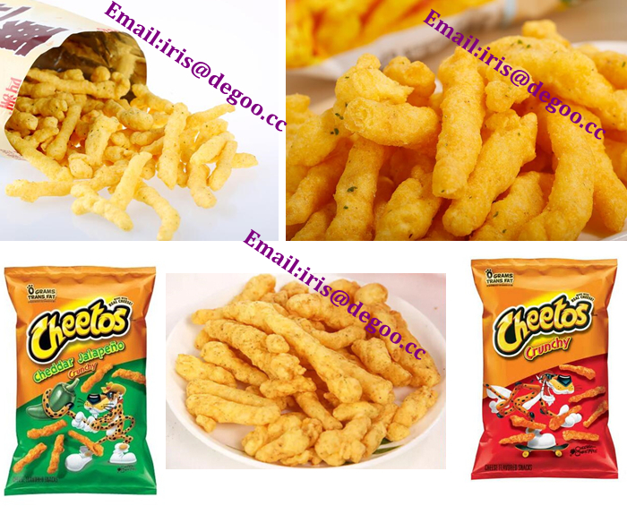 Nik nak Corn curl food making equipment line/Corn kurkure Snack production machine/ Cheetos puffing extruder corn machinery