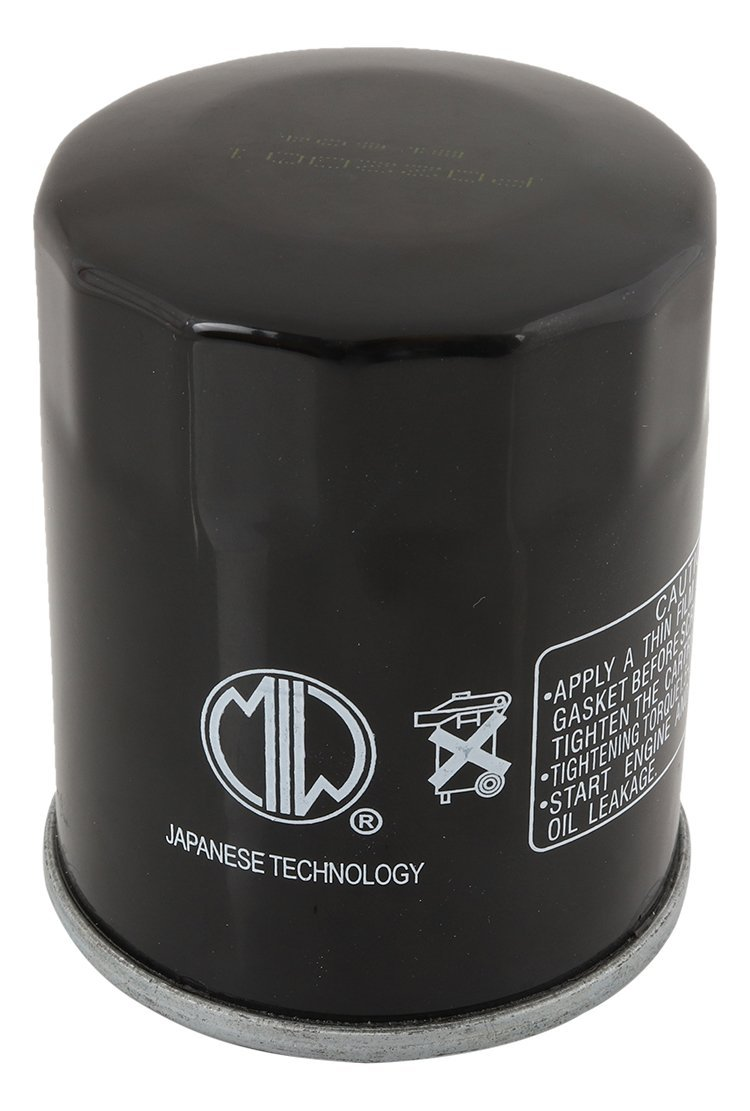 MIW PO22001-007 Oil Filter for Polaris Sportsman 600 4x4 (If built before 10/02/03) 04 2540086, Sportsman 700 4x4 02-07 2540086, Sportsman 700 4x4 [If built after 10/02/03] 04 2540086