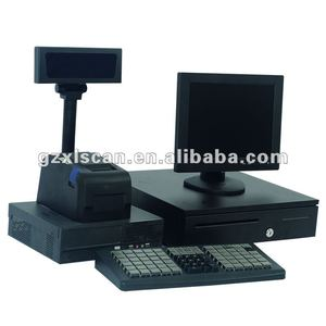 pos machine and barcode scanner /pos system and barcode scanner/cash register and barcode scanner NT-S350