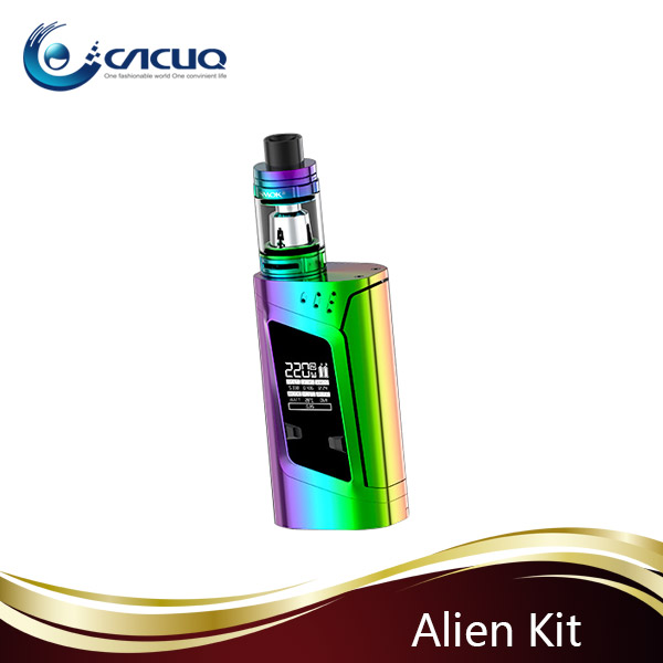 USA hottest Smok Alien 220w 3ml with huge cloud 100% original