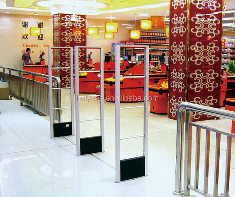 RF Anti-theft Antenna Security Scaner Door Alarm detectors for Clothes Store ,supermarkets shoplifting