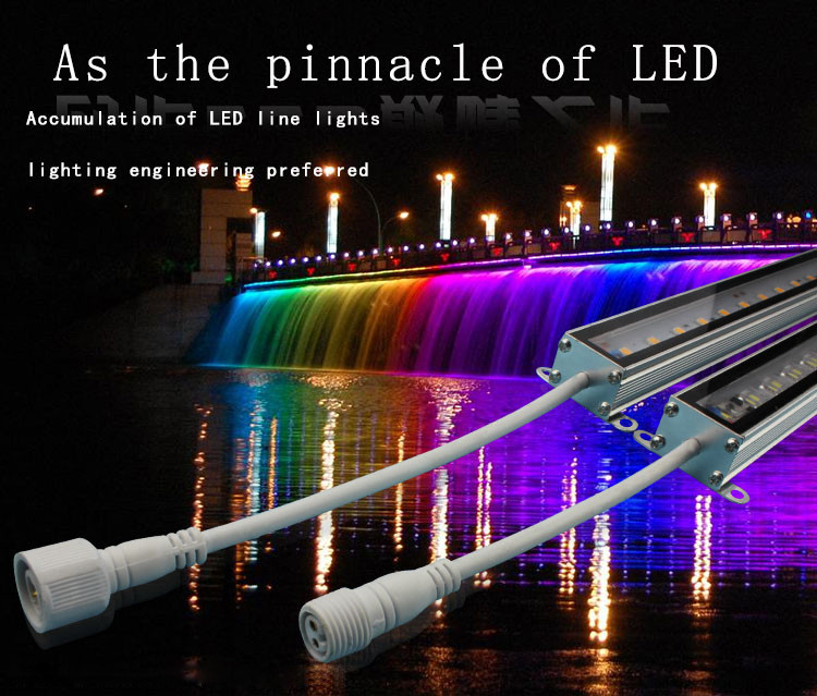 Tempered Glass Led Rigid Bar Led Light Strip Waterproof Led Strip Light  5050 60d Rgb 12v