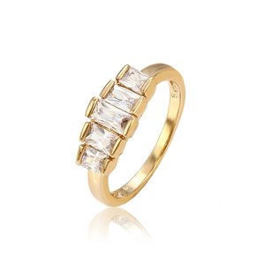 12976 Most popular hot sell 18k gold color men diamond ring