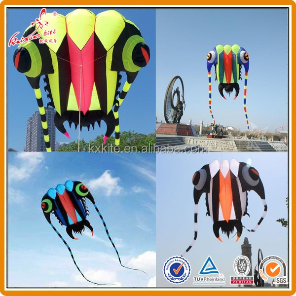 Custom colors 7sqm 10 sqm16sqm 32 sqm 43sqm 64sqm Trilobite lifter kite