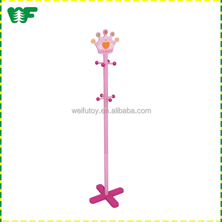 Kids fashion tree wooden coat hanger stand