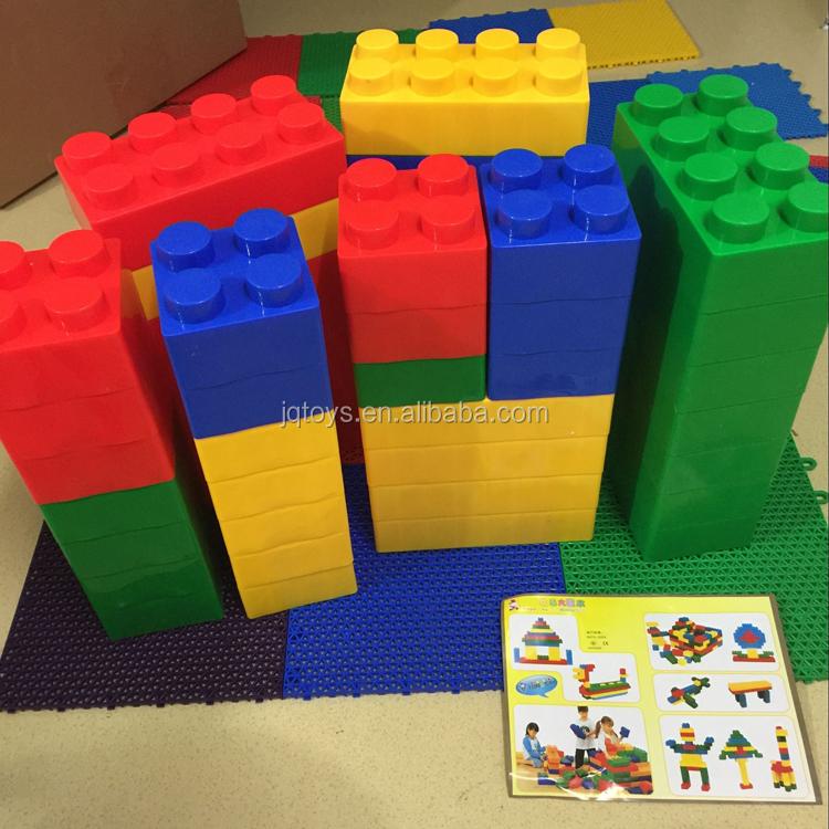 Children Plastic Large Building Blocks To Creative Plastic