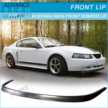 04 Mustang Gt >> Untuk Ford Mustang 99 04 Gt Svt V6 V8 Gaya Oe Bumper Depan Lip Spoiler Pu Body Kit Buy Untuk Ford 99 04 Mustang Bumper Depan Bibir Lip Spoiler Untuk