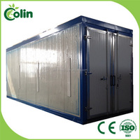 Quality assured good reputation material industry drying powder coating ovens
