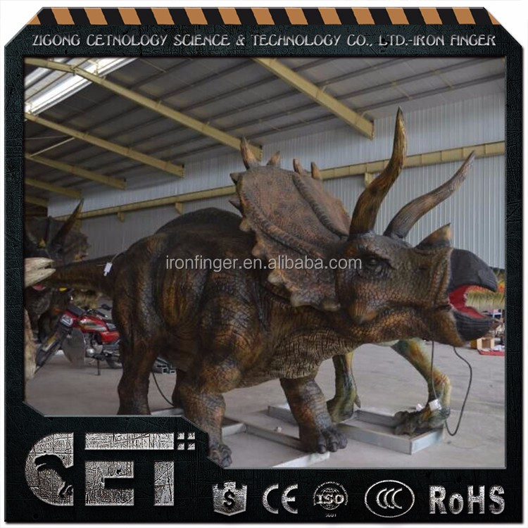 Cetnology Artificial Dinosaur Type high quallity humanoid robot with CE