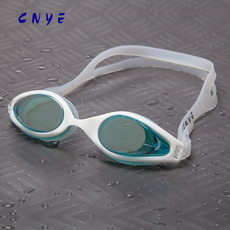 Wholesale Silicone Athletics Racing Anti-fog Adult Swimming Goggles