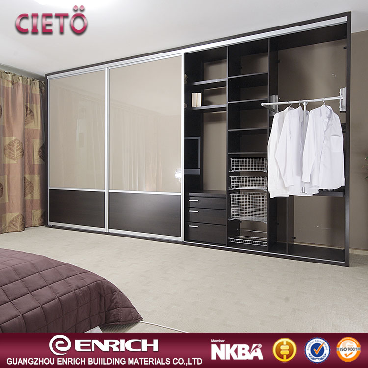 2019 Modern Style Cheap Prices Bedroom Dressing Wall Wardrobe Design