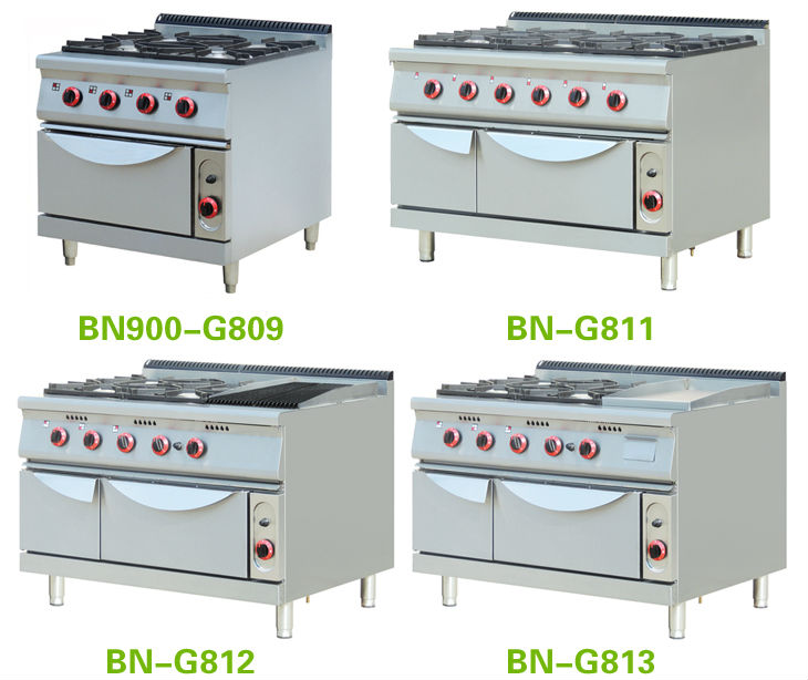 Restaurant Kitchen Oven delighful restaurant kitchen gas stove burners with 2 ovens on