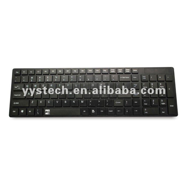 Mini Super Slim Keyboard With Silicon Case