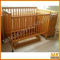 baby crib pine furniture pine wood baby furniture
