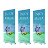 Digital printing advertising trade show 85*200 roll up display banner