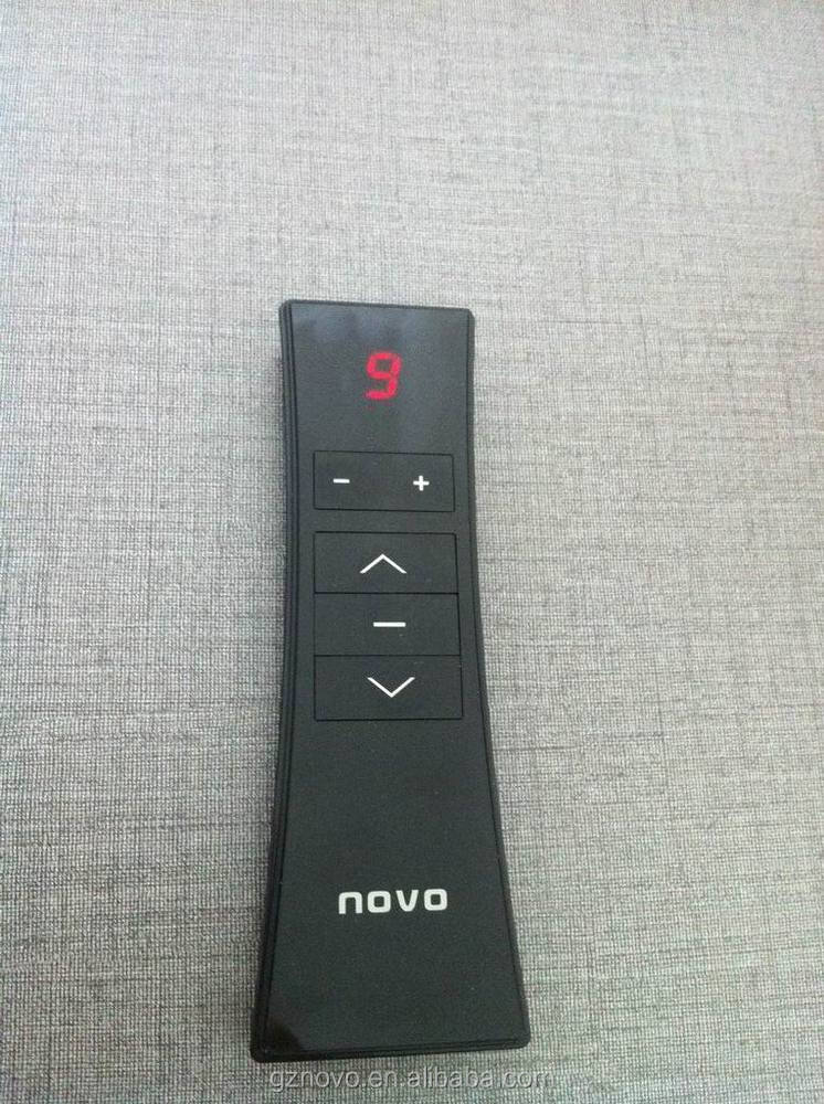 NOVO CE/CCC/ISO:9001 868/433mhz long range wireless remote control for electric window shutters exterior