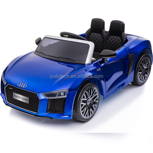 New licensed Audi R8 Spyder 2 motors 2.4G remote control baby electric car, kids ride on car