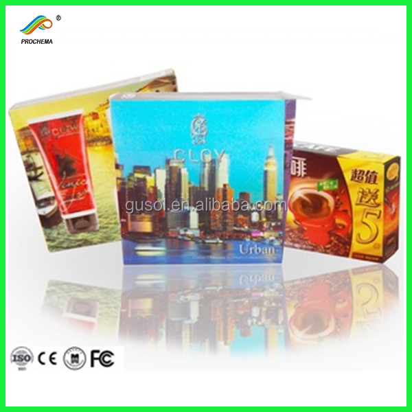 3D lenticular Skin care products packaging box