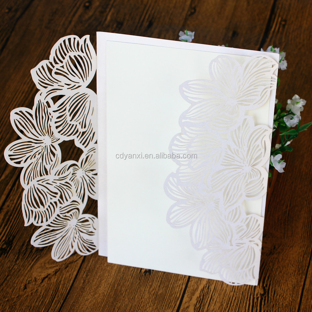 Elegant English 3d Print Handmade Lace Wedding Anniversary ...