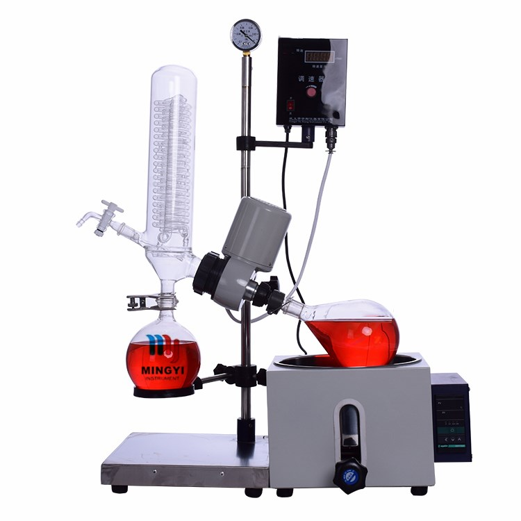 RE-201D 1L banhos de água escala de laboratório evaporador rotativo kit