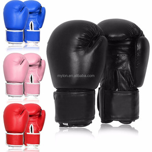 Boxing Pro Style Leather Training Boxing gloves