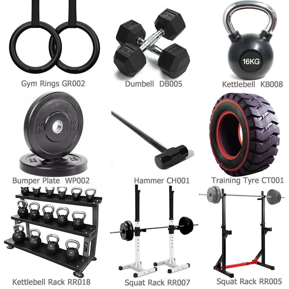 Small Gym Full Set Of Fitness Equipment