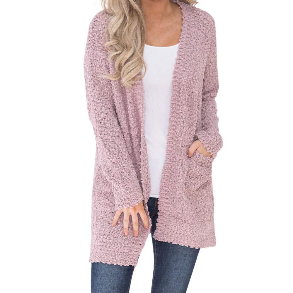 Amiley Parkas Women Winter,Clearance Women Winter Pockets Long Coat Jacket Parka Outwear Cardigan Coat