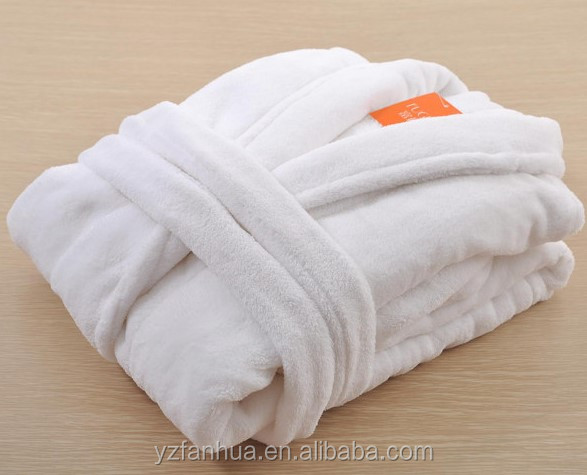New fashion boutique hotel cotton bathrobe and slippers
