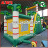 jungle inflatable slide combo,combo games,inflatable combo