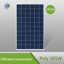 High quality poly solar panel, poly solar modules 265W